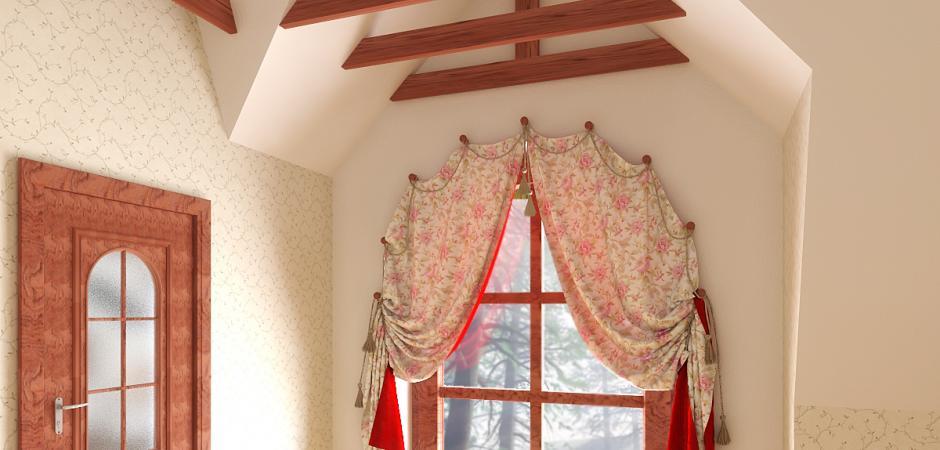 как повесить шторы без карниза фото декор