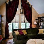 шторы и тюль без карниза фото интерьер