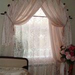 шторы и тюль без карниза фото интерьера