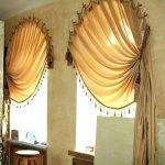 шторы и тюль без карниза фото оформления