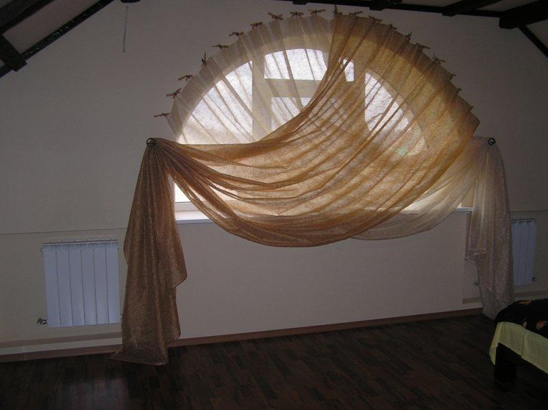 как повесить шторы без карниза идеи дизайн
