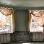 шторы на маленькие окна фото интерьера