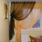 шторы на маленькие окна оформление