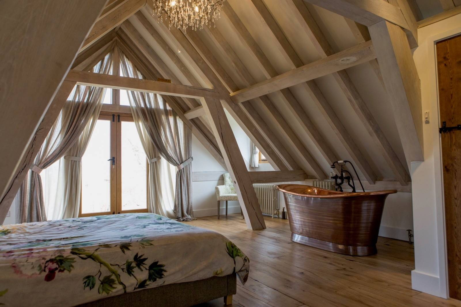 шторы на мансардные окна дизайн идеи