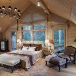 шторы на мансардные окна фото интерьера