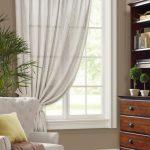 шторы на одну сторону окна фото текстиль