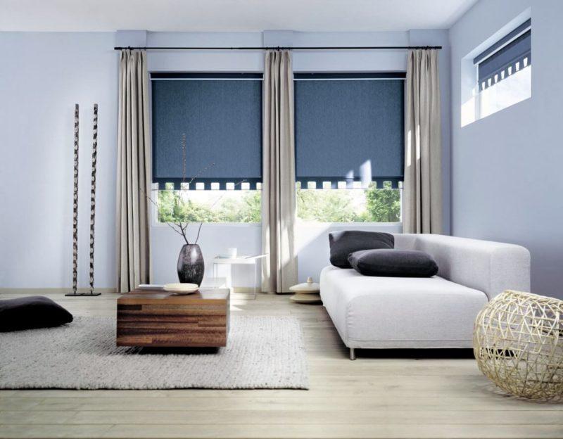 шторы на окно с балконом идеи оформления