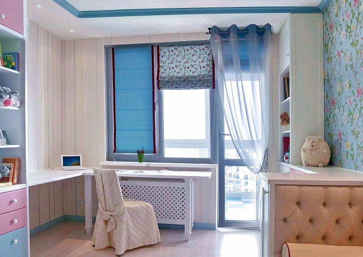 шторы на окно с балконом идеи вариантов