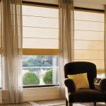 шторы на панорамные окна фото