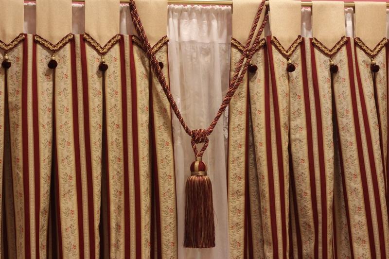 шторы на петлях декор