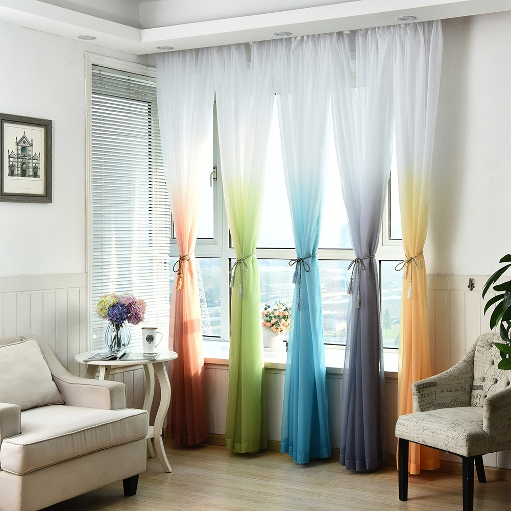 шторы омбре фото текстиля