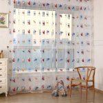 шторы с рисунком дизайн фото