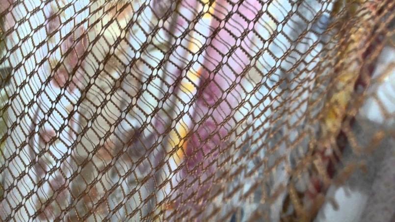 шторы из сетки дизайн