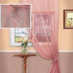 шторы из сетки фото оформления
