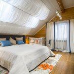 шторы в деревянном доме фото декор