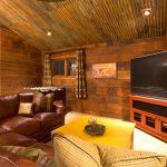 шторы в деревянном доме фото декора