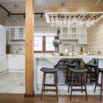 шторы в деревянном доме фото выбора