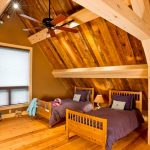 шторы в деревянном доме идеи