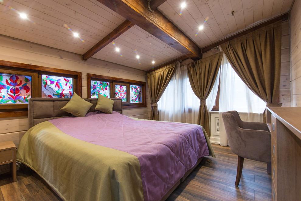 шторы в деревянном доме идеи декора