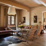 шторы в деревянном доме идеи интерьер