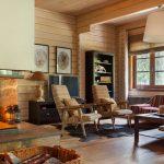 шторы в деревянном доме идеи вариантов
