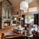 шторы в деревянном доме обзор фото