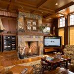 шторы в деревянном доме оформление