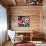шторы в деревянном доме особенности фото