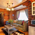 шторы в деревянном доме особенности идеи