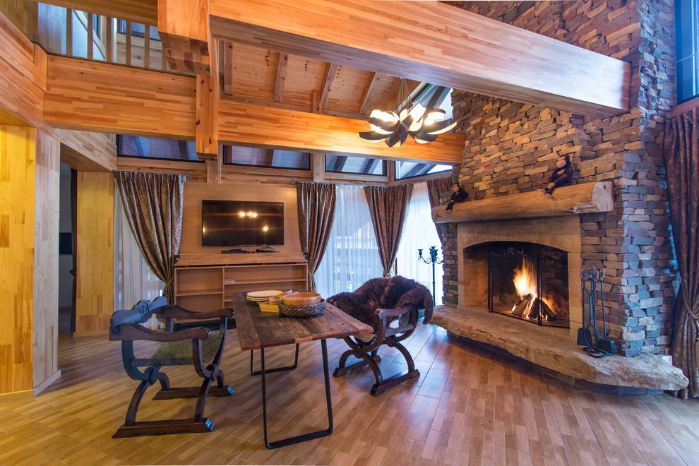 шторы в деревянном доме выбор идеи