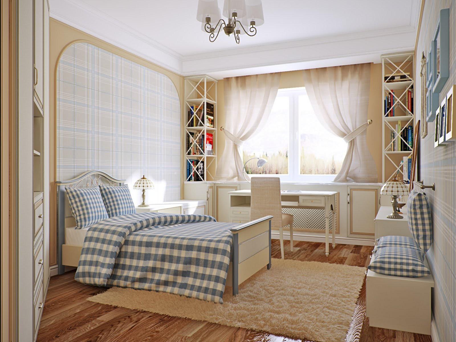 шторы в комнату девочки подростка дизайн