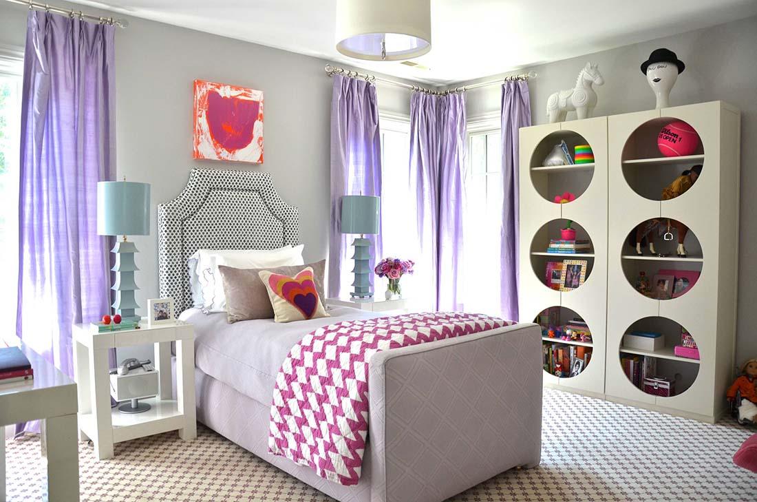 шторы в комнату девочки подростка фото дизайн
