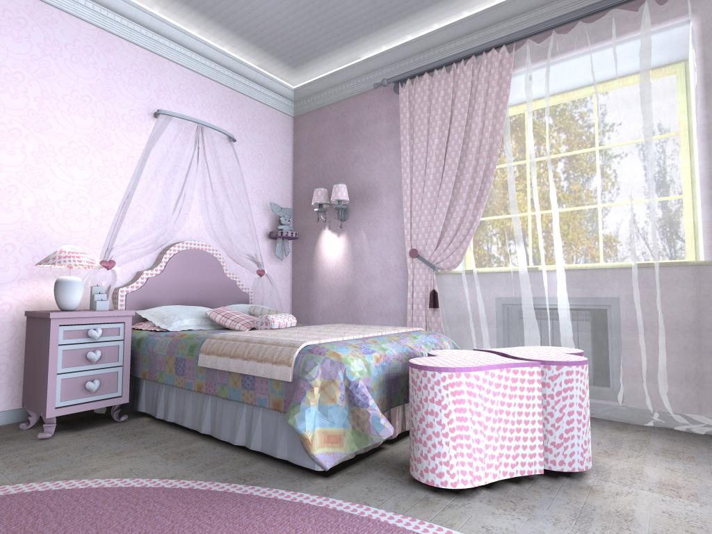 шторы в комнату девочки подростка фото