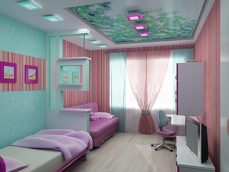 шторы в комнату девочки подростка оформление идеи