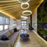 шторы в деревянном доме эко стиль