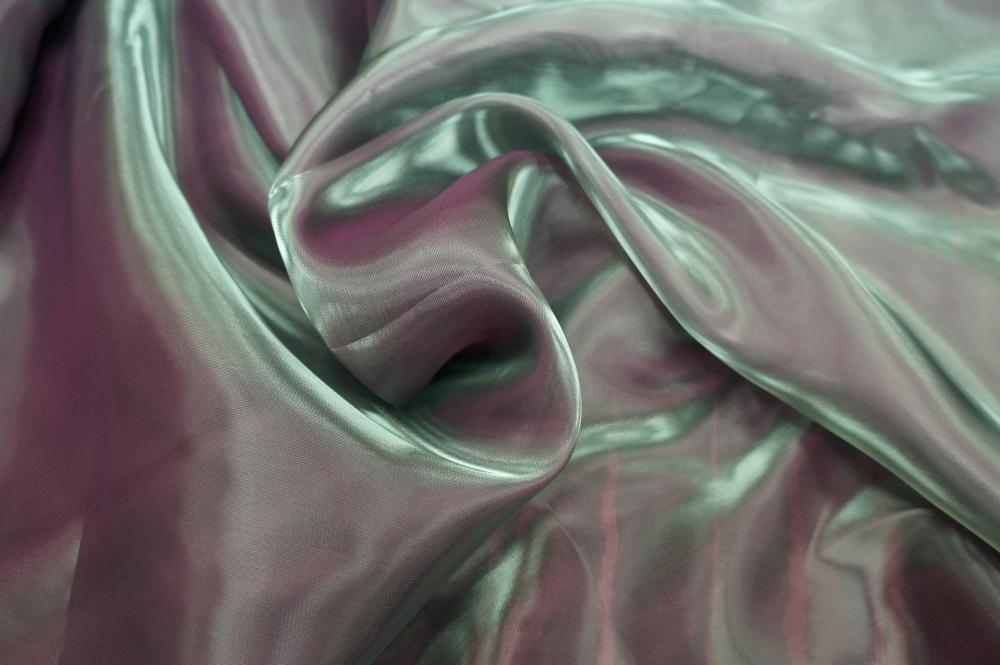 тюль из органзы хамелеон