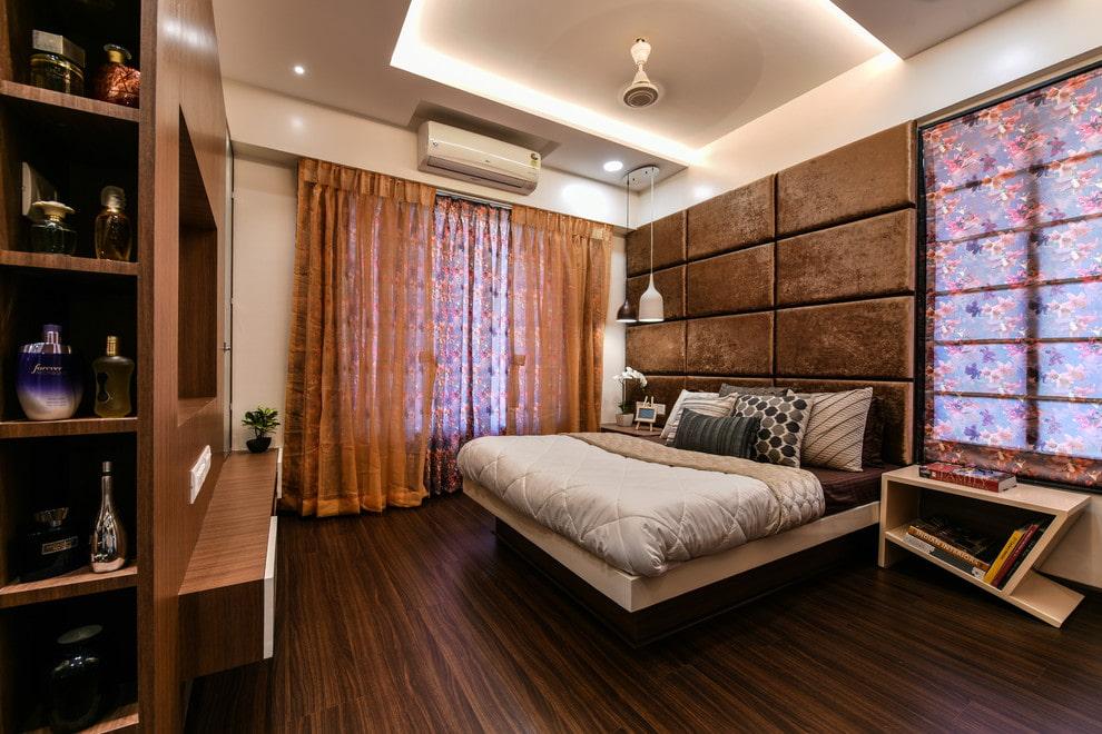 тюль в спальне дизайн идеи