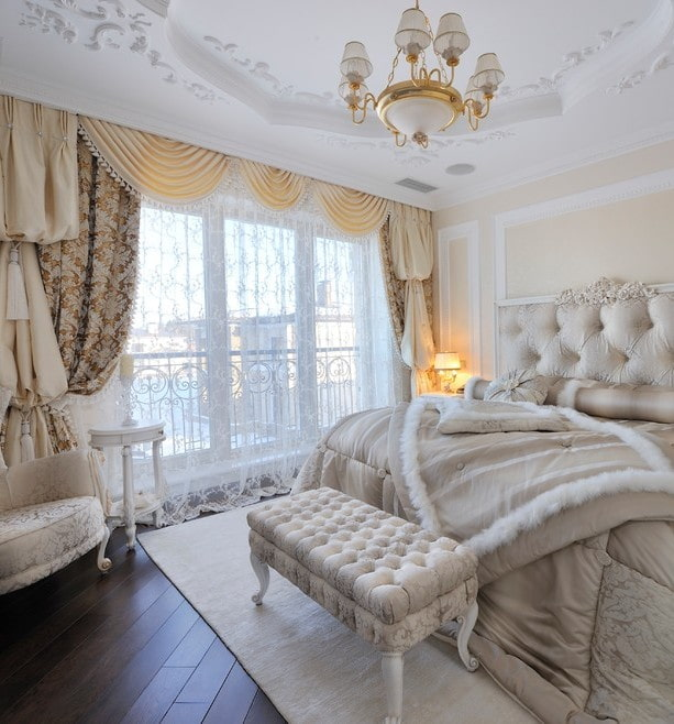 тюль в спальне идеи декор