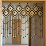 декор штор для дверного проёма