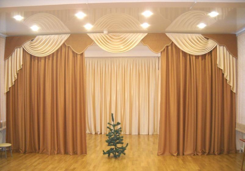 шторы для детского сада идеи декора