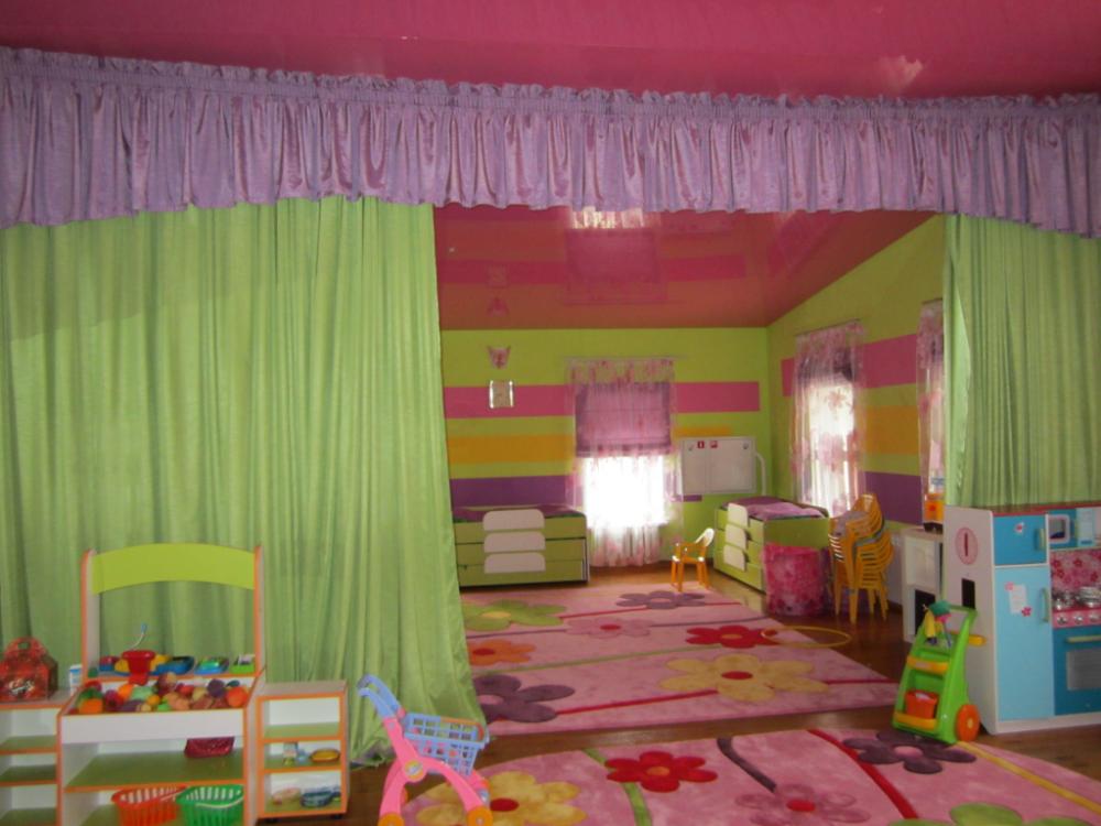 шторы для детского сада идеи дизайна
