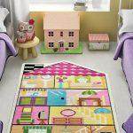 ковер в детскую комнату идеи декор