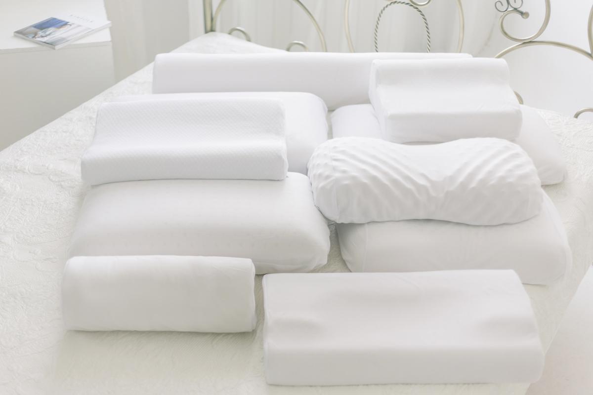 разновидности латексных подушек