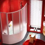 шторки для ванных комнат