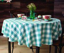 скатерть на стол для кухни идеи фото