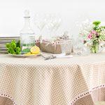 скатерть на стол для кухни оформление