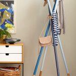 напольная вешалка для одежды декор