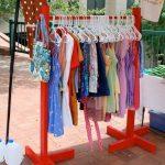 напольная вешалка для одежды фото идеи