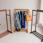 напольная вешалка для одежды идеи фото