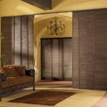 бамбуковые шторы дизайн интерьер